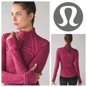 Pink lululemon define jacket